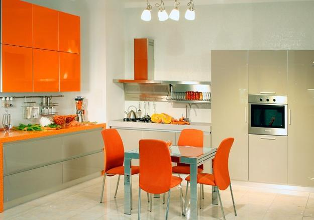 orange kitchen ideas orange kitchen colors 20 modern kitchen design and 14459