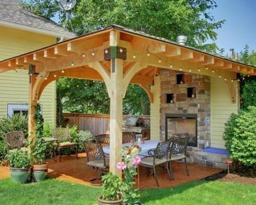 22 Beautiful Garden Design Ideas, Wooden Pergolas and ... on ideas for wedding gazebo, ideas for family room, ideas for metal gazebo, ideas for hot tub gazebo, ideas for arbors,