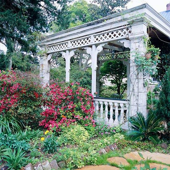 22 Beautiful Garden Design Ideas, Wooden Pergolas and Gazebos ...