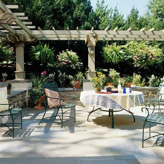 Pergolas Backyard And: 22 Beautiful Garden Design Ideas, Wooden Pergolas And