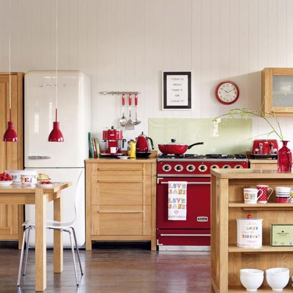 48 Stunning Red Kitchen Design And Decorating Ideas Awesome Red Kitchen Ideas
