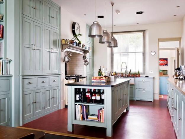 Stunning Red Kitchen Design And Decorating Ideas - Gray and red kitchen ideas