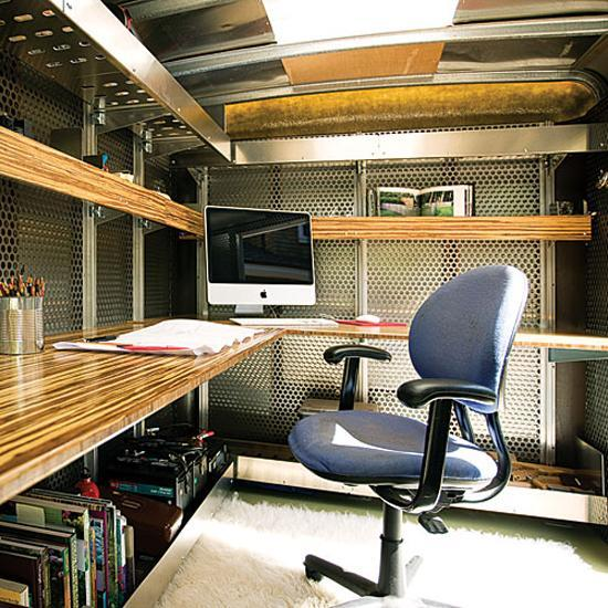 Mobile Home And Small Office On Wheels 2 Redesign Ideas Recycling Old Trailers