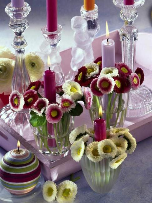 22 Ideas For Spring Home Decorating With Flowers Simple