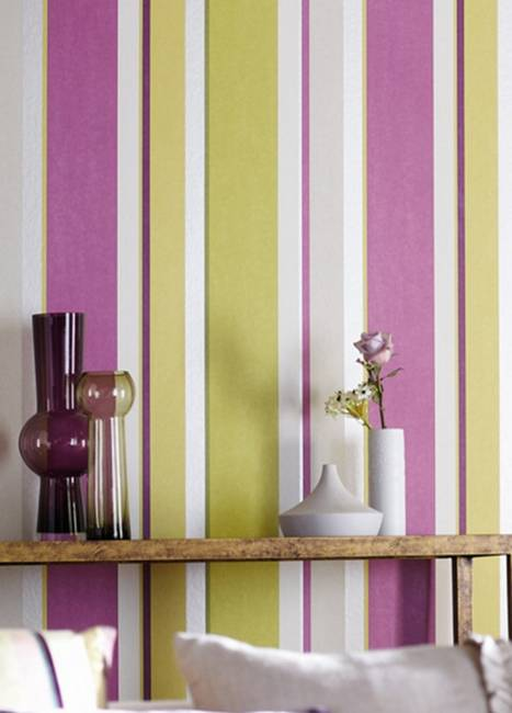 Vertical Stripes in Modern Interior Design, 25 Room Decorating Ideas