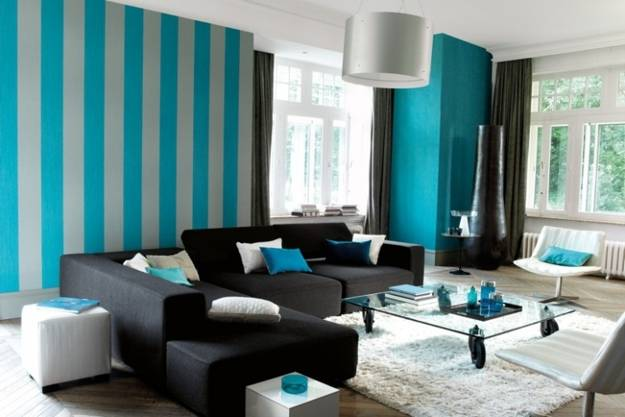 Vertical Stripes In Modern Interior Design 25 Room
