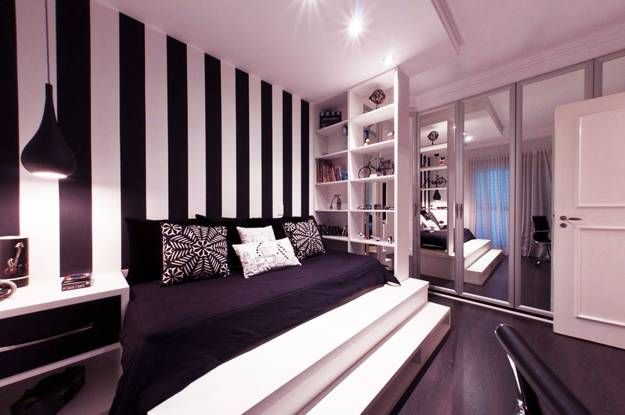 Vertical Stripes In Modern Interior Design 25 Room Decorating Ideas