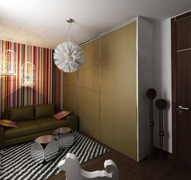 Decorating With Stripes For A Stylish Room: Vertical Stripes In Modern Interior Design, 25 Room