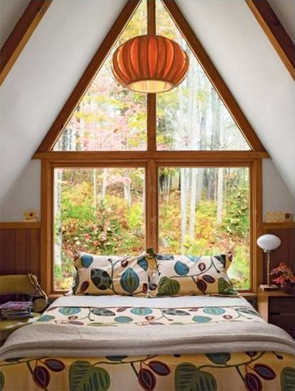 Rooms In Roof Designs: Cute Small House Designs With Gable Roofs And Triangular A