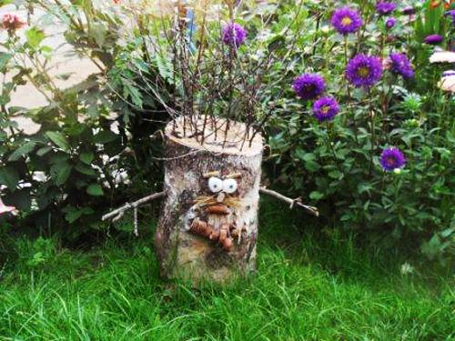 25 Ideas To Recycle Tree Stumps For Garden Art And Yard
