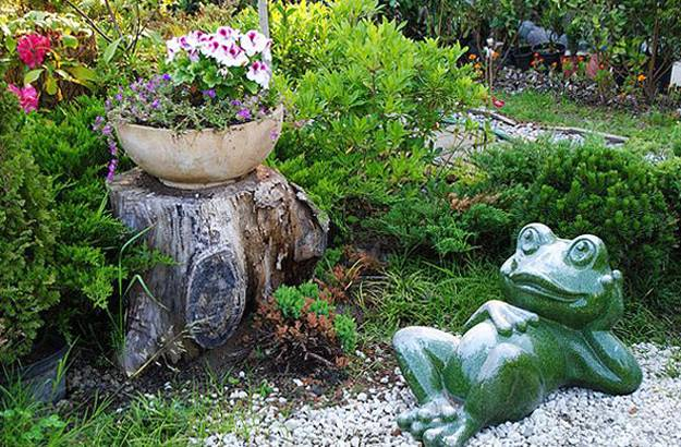 Merveilleux 25 Ideas To Recycle Tree Stumps For Garden Art And Yard ...