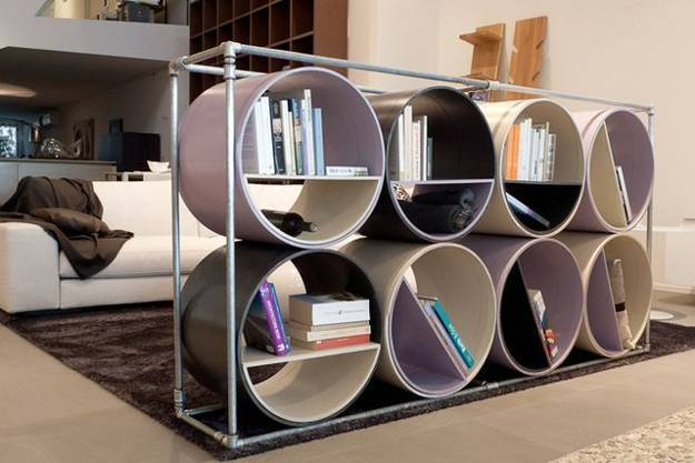 Recycling Plastic and Metal Pipes for Unique Furniture, 50 Furniture ...