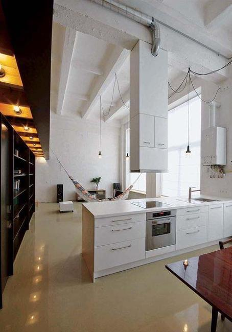 modern kitchens, contemporary design, white cabinets and island designs