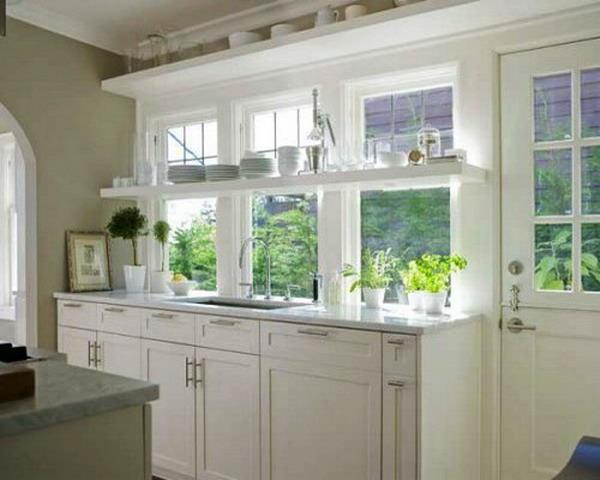 Open Kitchen Shelves and Stationary Window Decorating Ideas on curtains with windows, bathrooms with windows, kitchen window toppers, kitchen ideas lighting, kitchen remodel with windows, country kitchen windows, diy with windows, kitchens designs with no windows, kitchen islands with windows, decorating with windows, small kitchen with windows, traditional kitchens with windows, kitchen layouts with windows, kitchen sink window ideas, kitchen floor plans with windows, dream kitchens with windows, home with windows, kitchen ideas cabinets, garden for kitchen windows, kitchens with lots of windows,
