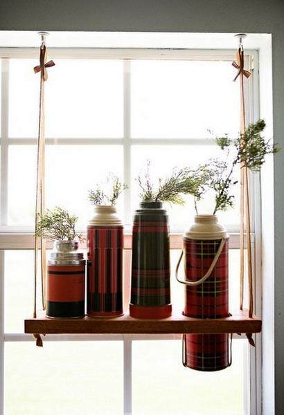 25 Creative Window Decorating Ideas with Open Shelves, Space ...