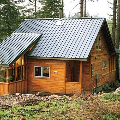 22 beautiful wood cabins and small house designs for diy for Wood cabin homes