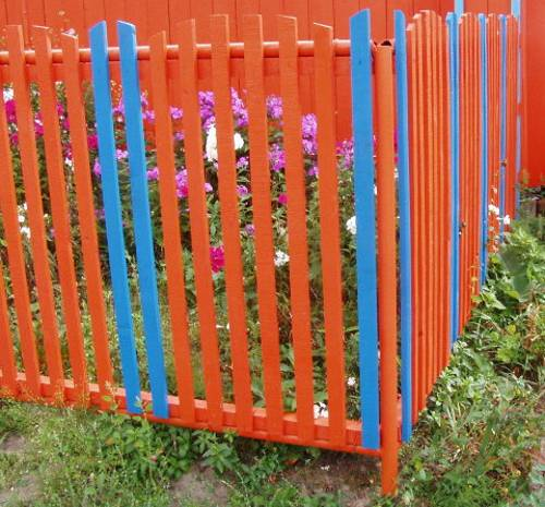 Painting Fence With Water