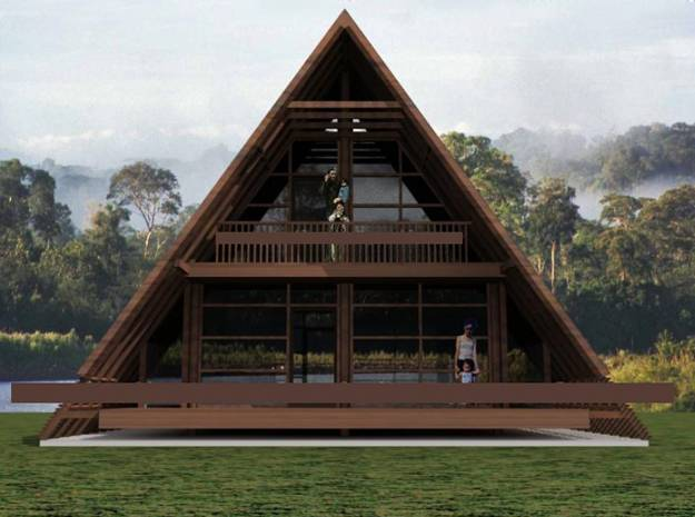 Triangles in Architectural Designs Taking Modern Houses ...