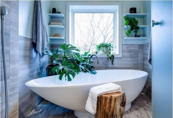 Small Corner Shelving Unit For Bathroom Design