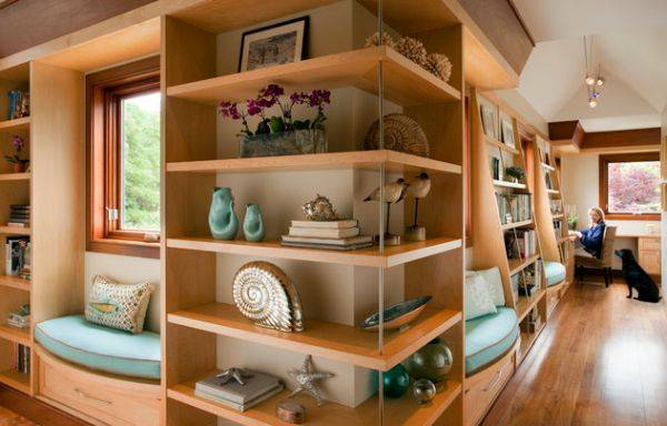 25 Space Saving Modern Interior Design Ideas, Corner Shelves ...