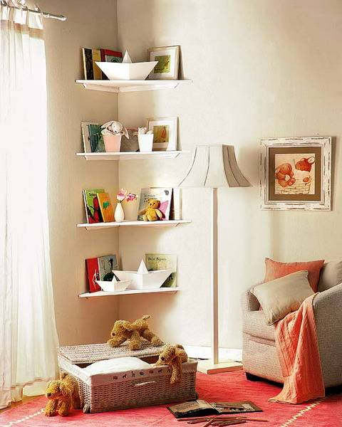 Space Saving Designs For Small Kids Rooms: 25 Space Saving Modern Interior Design Ideas, Corner