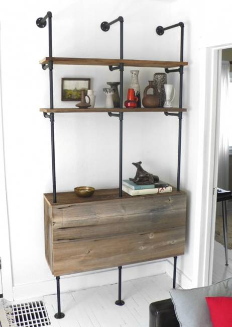 Free Standing Shelving Ideas For Living Room
