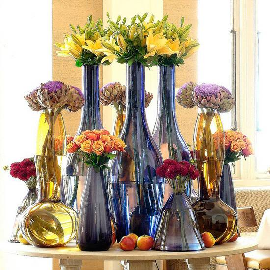 30 Ideas For Summer Decorating With Beautiful Flowers And Candles Centerpieces