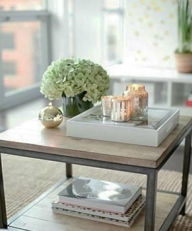 Simple Dining Table Centerpiece