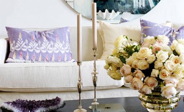 Ideas for summer decorating with beautiful flowers and