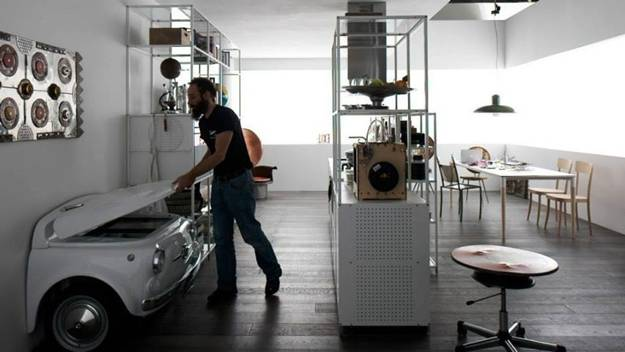 Unique Modern Kitchen Appliances In Retro Style Fridge