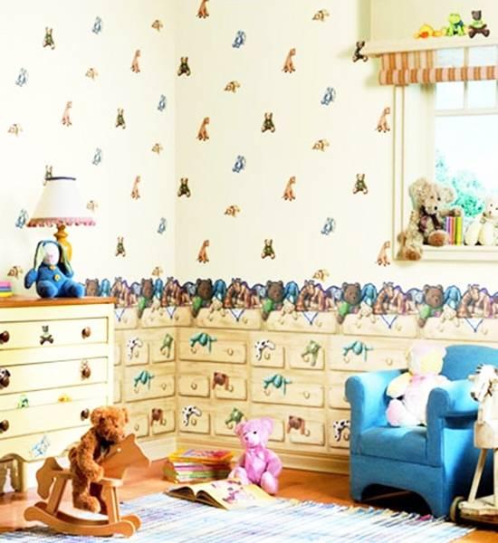 20 Best Baby Room Decor Ideas: Modern Wallpaper For Kids Room Decorating, 20 Baby Room