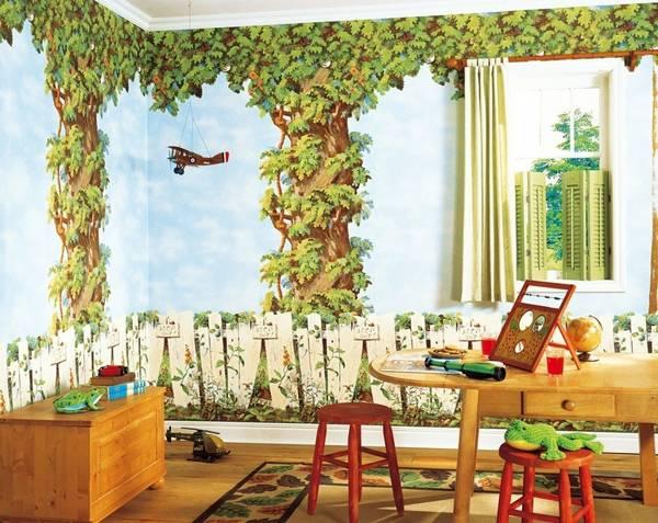 Modern Wallpaper For Kids Room Decorating, 20 Baby Room Design Ideas