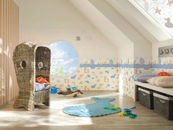 modern wallpaper for toddler rooms and kids room decorating ideas