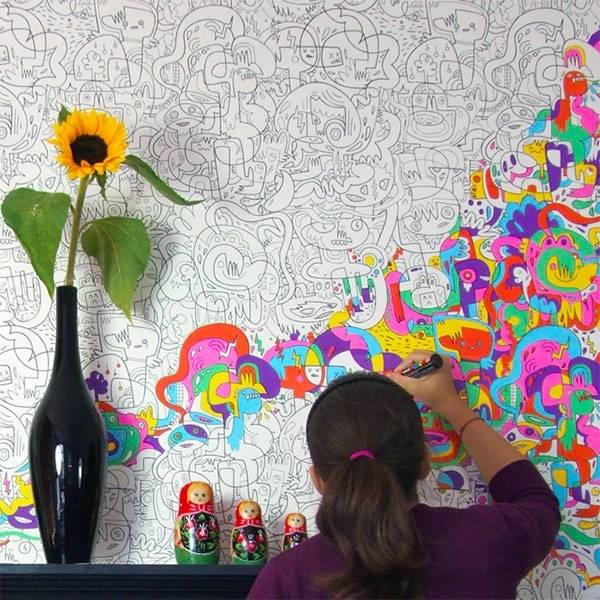 Colorful Kids Rooms: 22 Colorful Kids Rooms, Modern Wallpaper For Kids Room