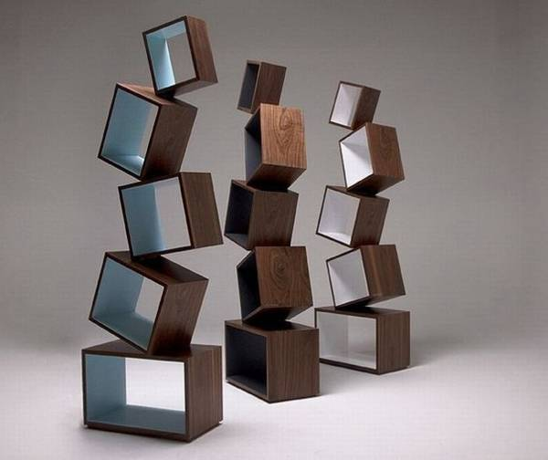 Modern Furniture 2014 Clever Furniture Arrangement Tips: 40 Modular Shelving Systems, Contemporary Furniture Design