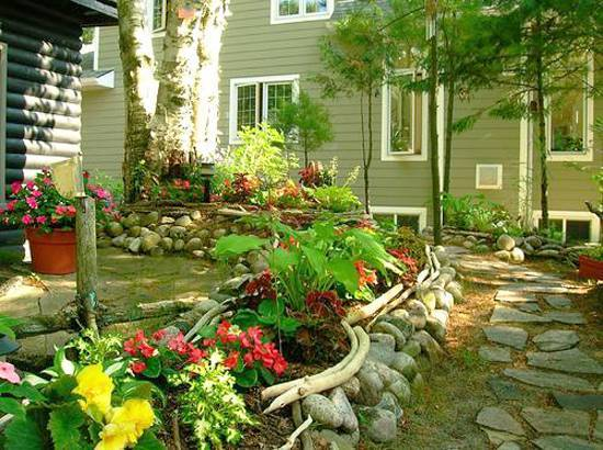 15 Great Ideas For Beautiful Garden Design And Yard Landscaping With Raised Bed Borders
