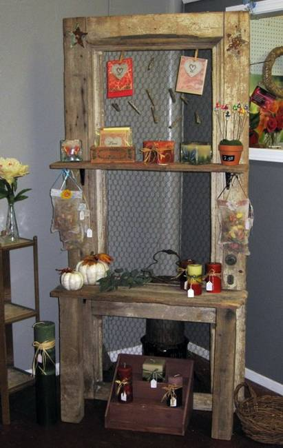 Wall Shelf With Coat Rack, Creative Idea To Reuse And Recycle Old French  Door
