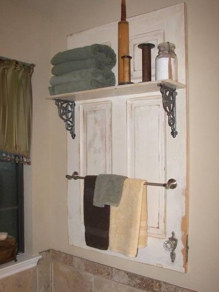Vintage Coat Rack With Shelf