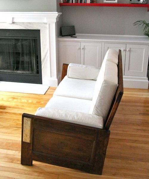 Modern Furniture 2014 Clever Furniture Arrangement Tips: Unique Vintage Furniture Recycling Wood Doors, 30 Modern Ideas