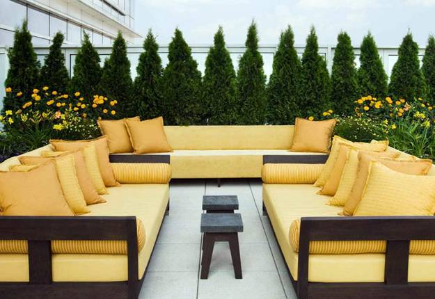 20 Great Patio Ideas, Beautiful Outdoor Seating Areas and Roof Top ...