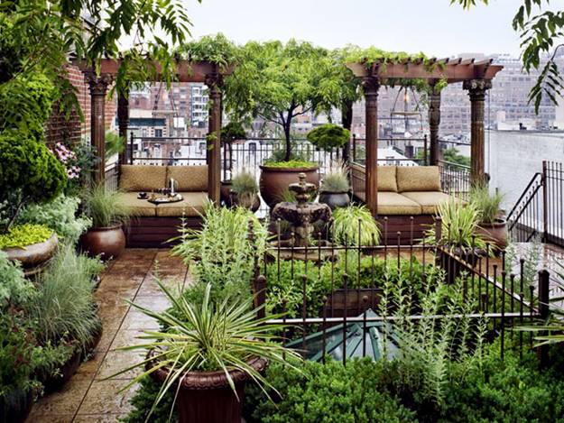 20 Great Patio Ideas, Beautiful Outdoor Seating Areas and ...