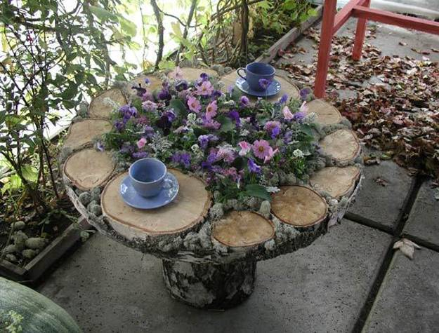85 Stumperies Recycling Wood And Creating Beautiful Garden