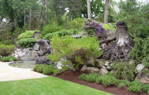 60 Impressive Stumpery Garden Decorations Creative And