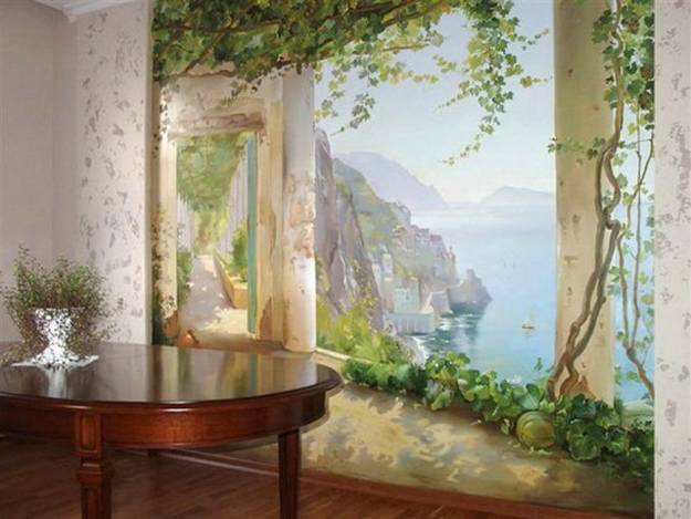 Interior Design Wall Painting: 20 Wall Murals Changing Modern Interior Design With