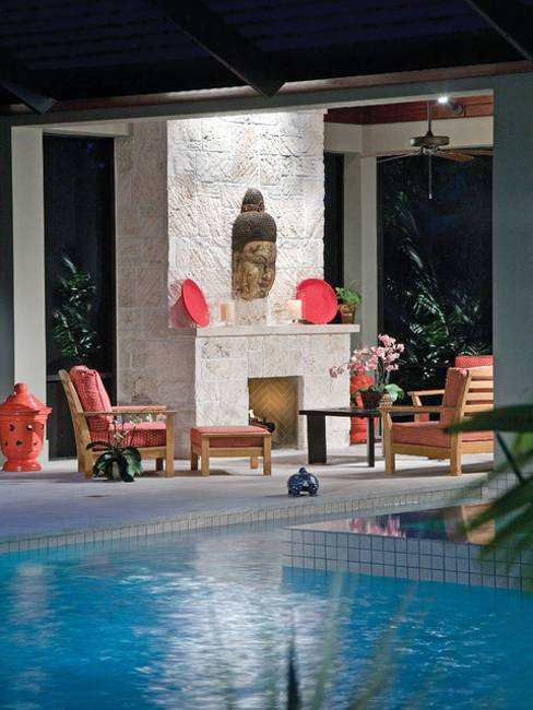 modern ideas for outdoor living spaces