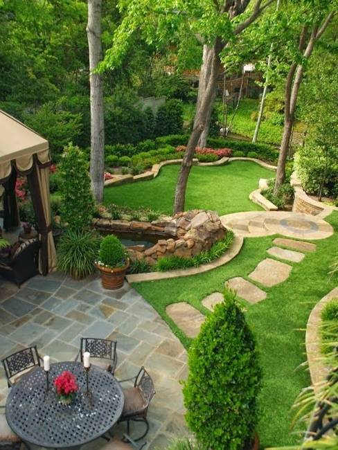 25 Inspiring Backyard Ideas and Fabulous Landscaping Designs on Landscape Design Ideas  id=63371