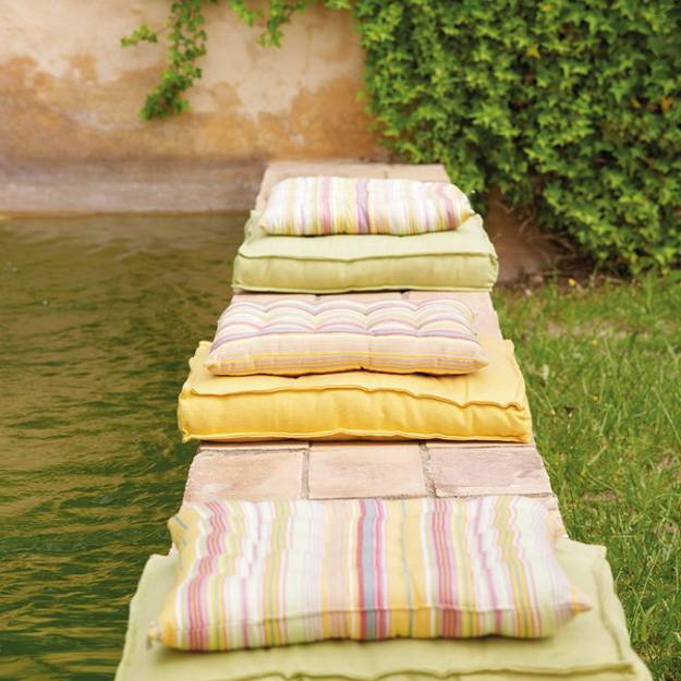 Colorful Outdoor Rooms: Bringing Bright Color Accents Into Outdoor Rooms, Before