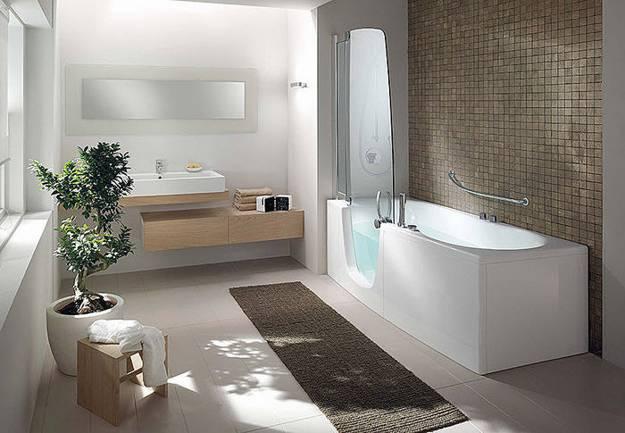 . Stylish Bathtubs and Shower Enclosures  Modern Bathroom Design Ideas