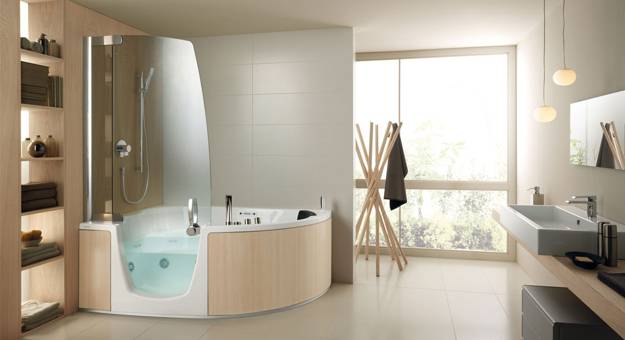 Stylish Bathtubs And Shower Enclosures