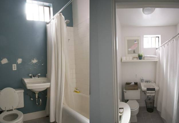 bathroom renovation ideas, painting and home staging ideas
